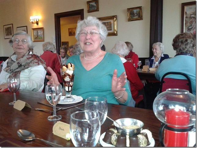 Ash with Westmarsh 70th Birthday Lunch
